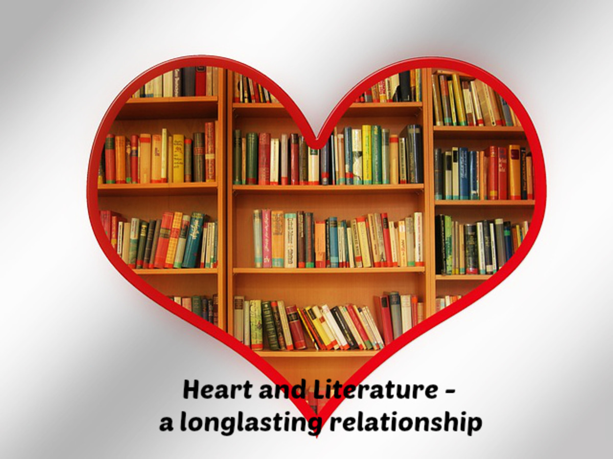 Heart and Literature always go hand in hand..