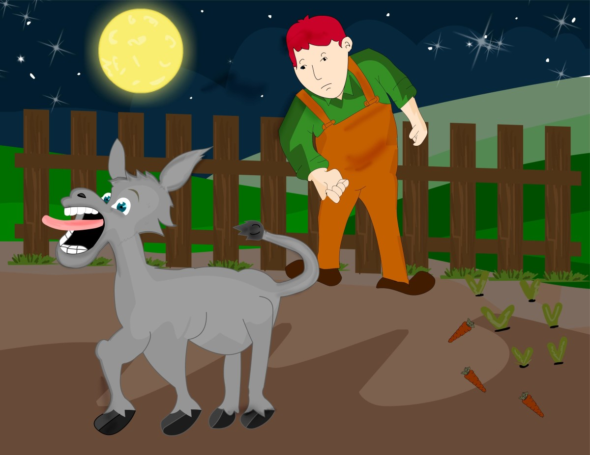 Panchatantra stories for kids | The musical donkey