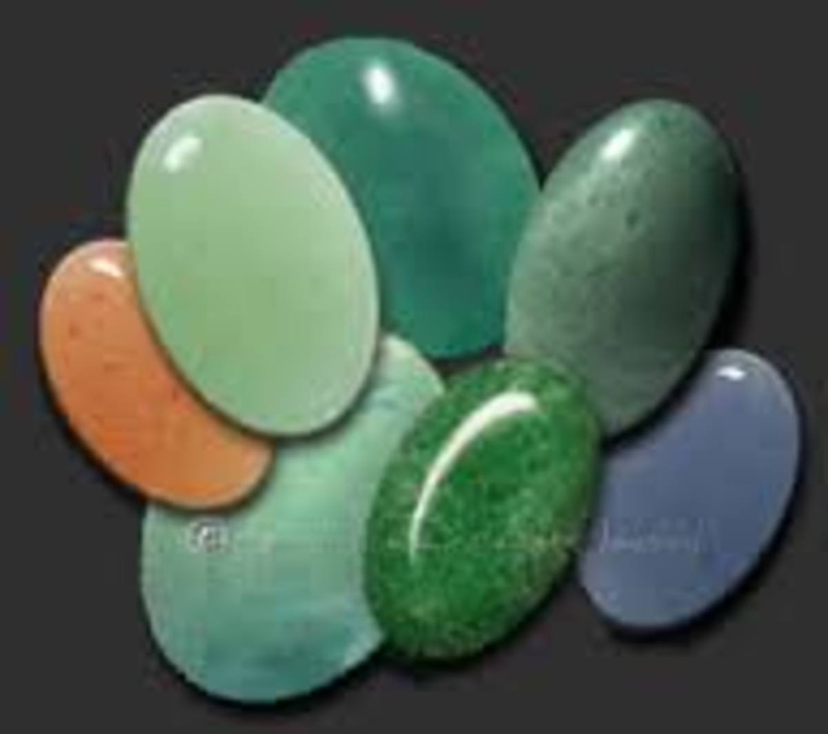 Different types of Aventurine Crystals
