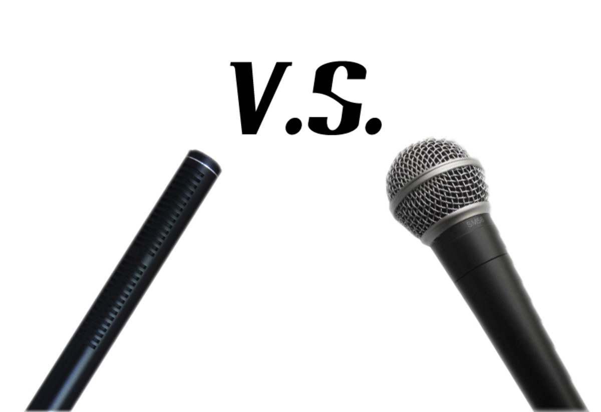 The Difference between a Dynamic Microphone and a Condenser