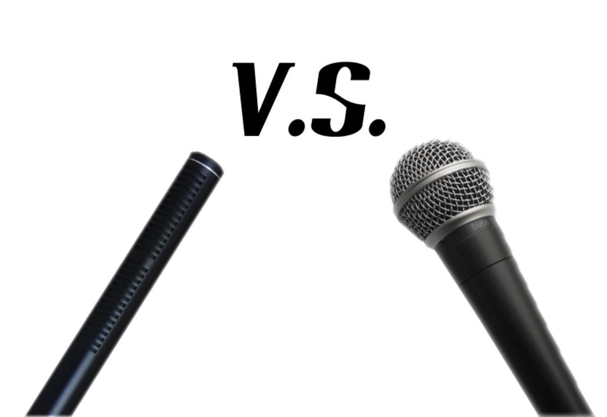 dynamic mic vs condenser mic hubpages. Black Bedroom Furniture Sets. Home Design Ideas