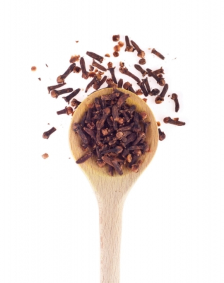 Cloves are well-know to relieve tooth pain