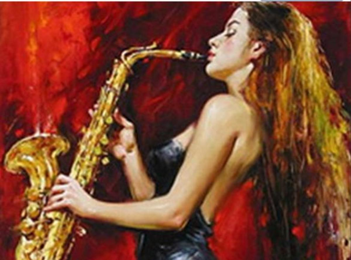 The Saxophone and the Saxophone Player: Linda Bilyeu  aka Sunshine625