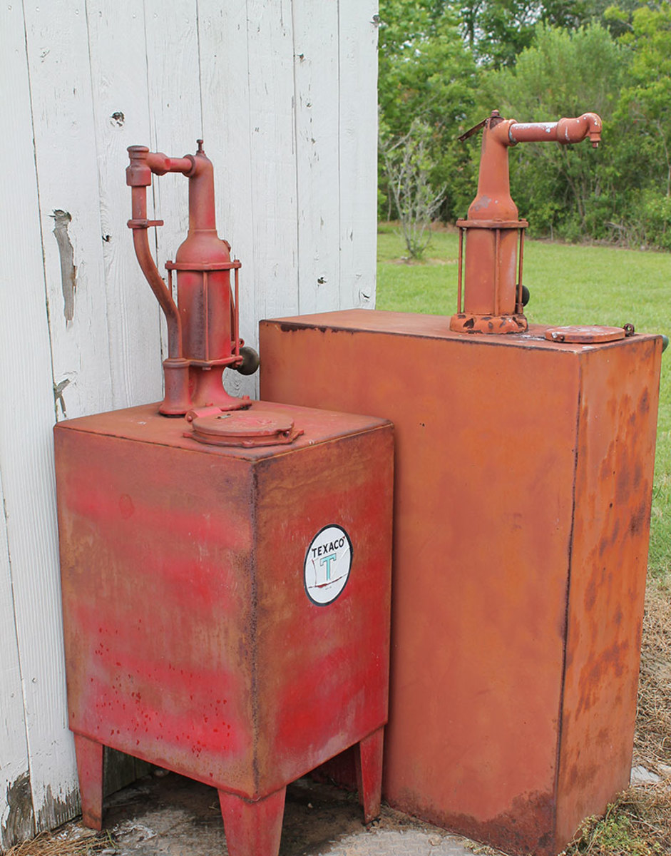 Bulk Oil and Kerosene Storage Tanks