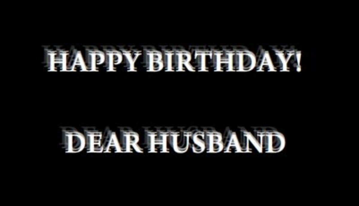 Romantic and Funny Happy Birthday Poems for Husband
