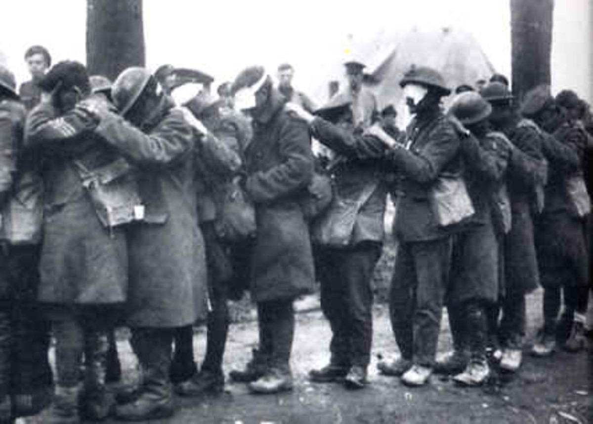 World War 1 Victims of Chemical Weapons