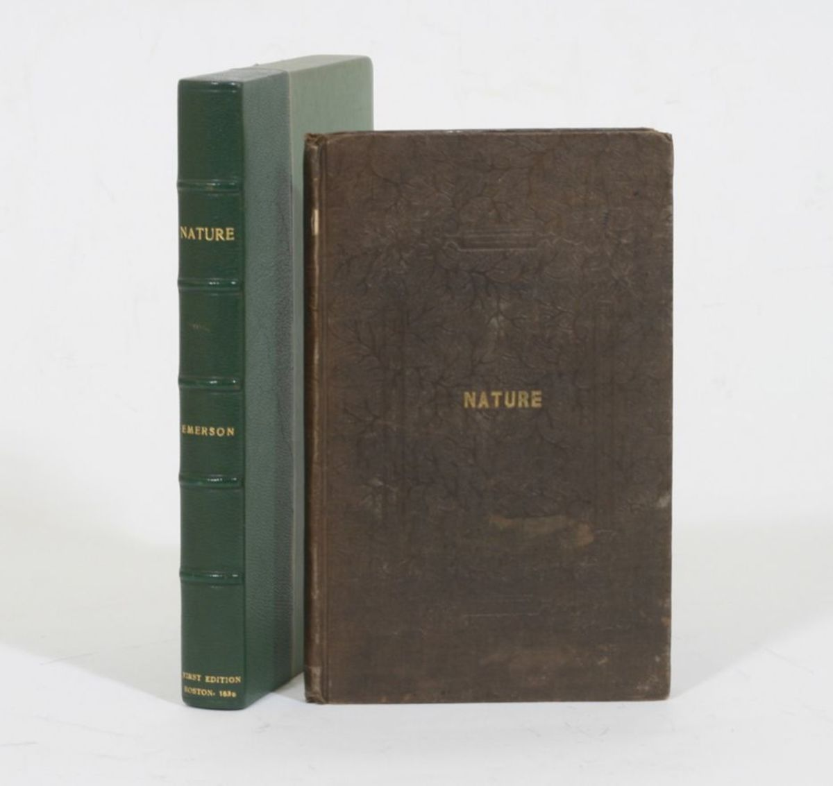 Nature by Ralph Waldo Emerson (1st Edition)