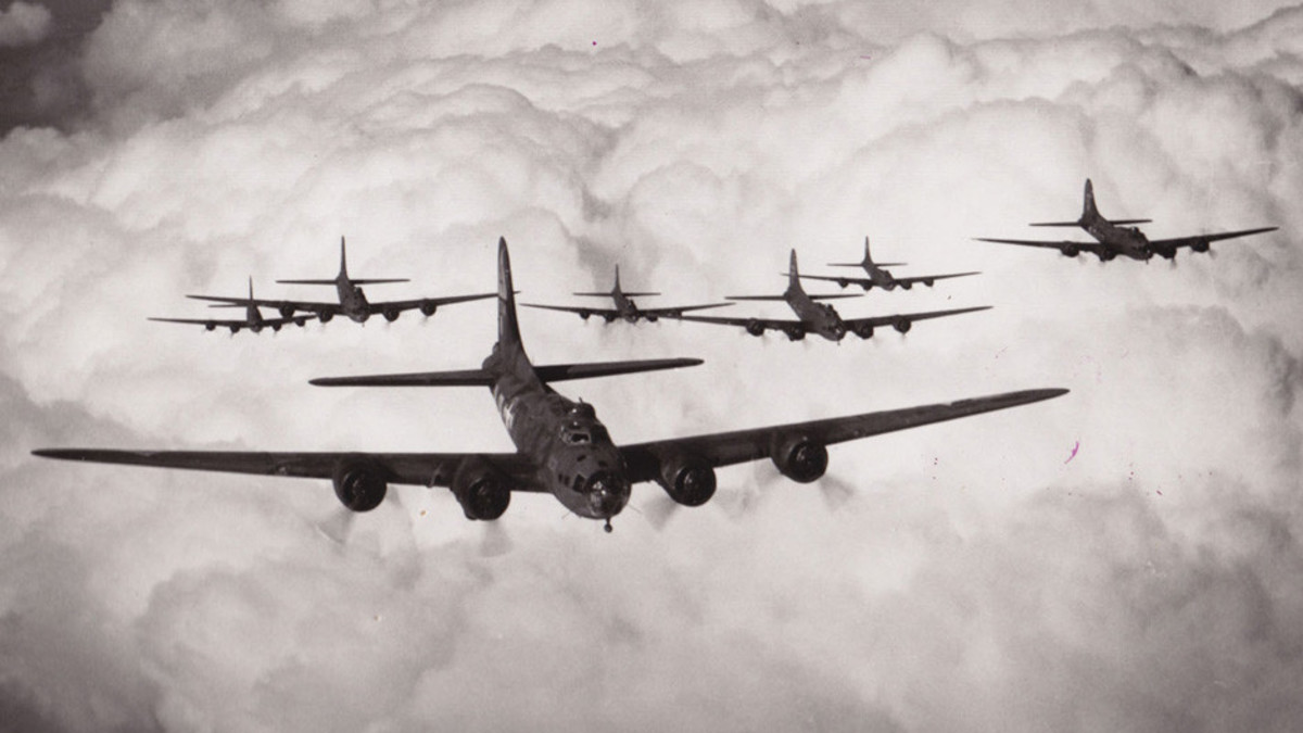 World War Two planes over England