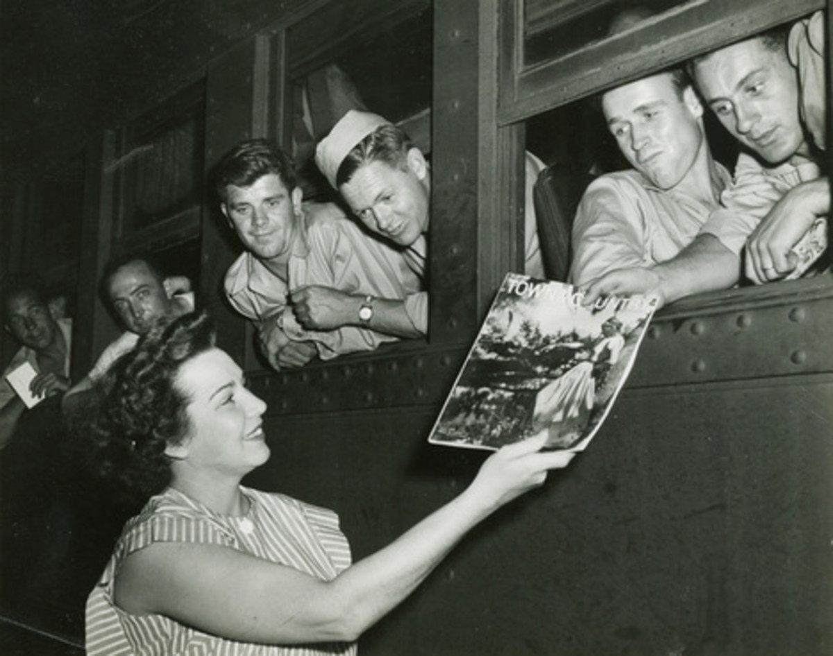 Troop Train in World War 2