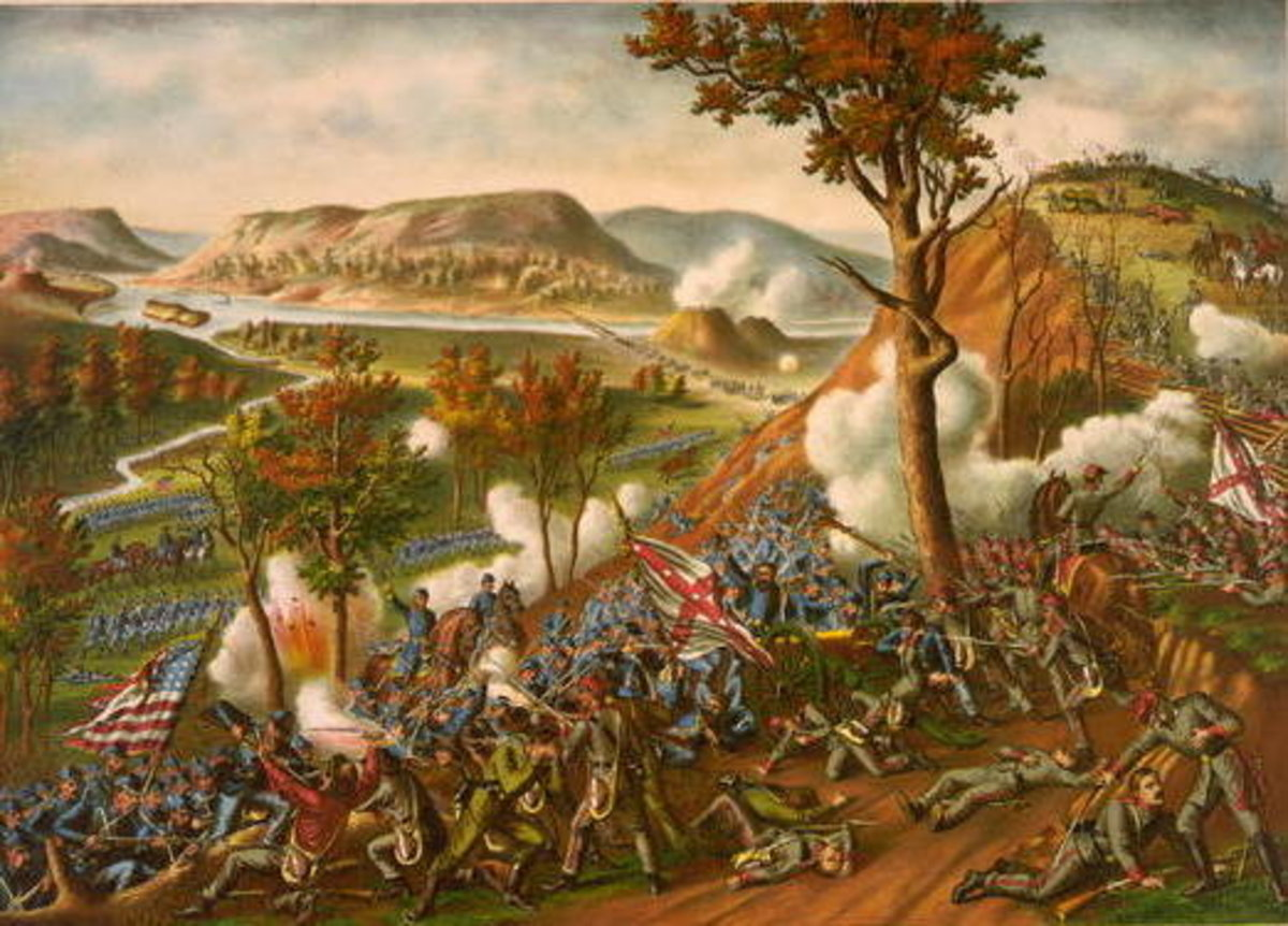 Civil War Battle of Missionary Ridge