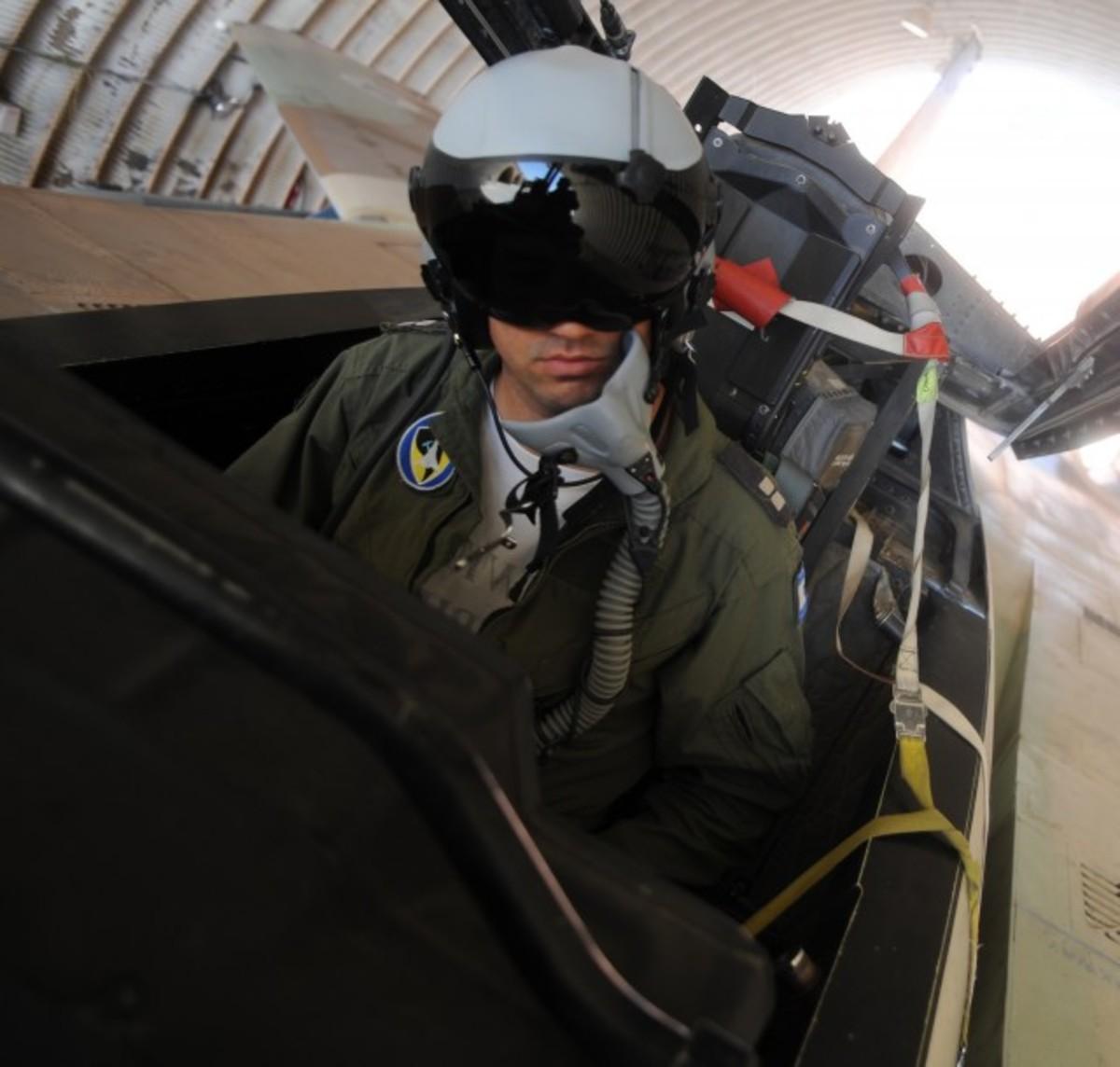 Israel Air Force F151 Pilot
