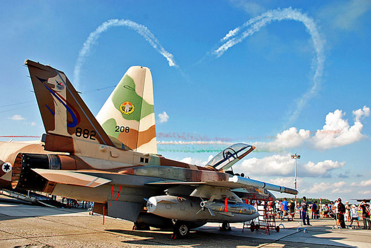 Israel Air Force Sky Valentine