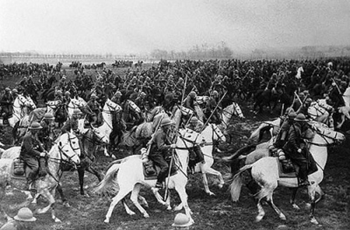 Fighting World War 2 on Horseback