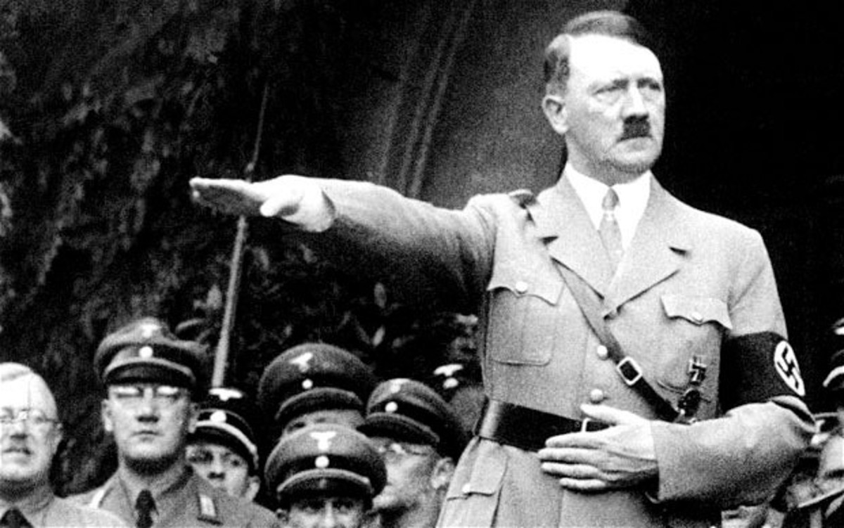 Adolf Hitler, Führer of Germany from 1933 to 1945