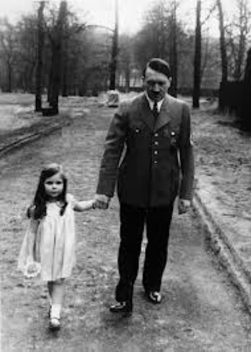 The people of Germany trusted and respected Adolf Hitler.