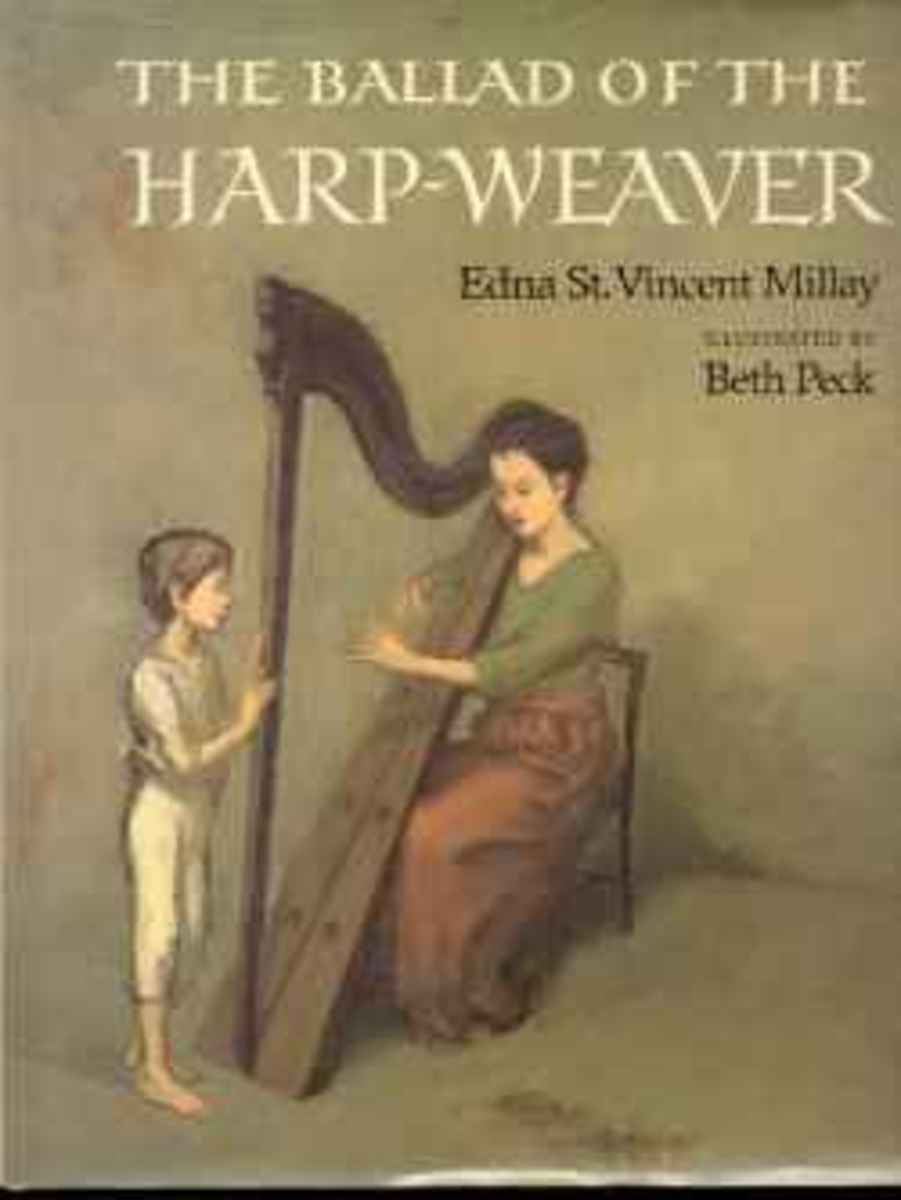 The Ballad of the Harp Weaver Book