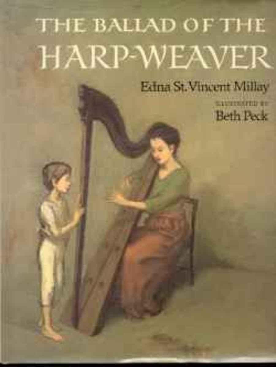 The Ballad of the Harp Weaver Book