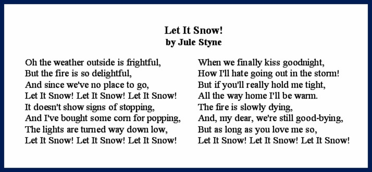 Let it Snow! Lyrics