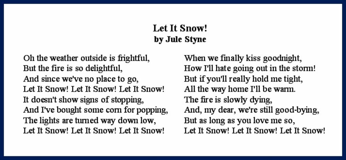 Let it Snow! Lyrics
