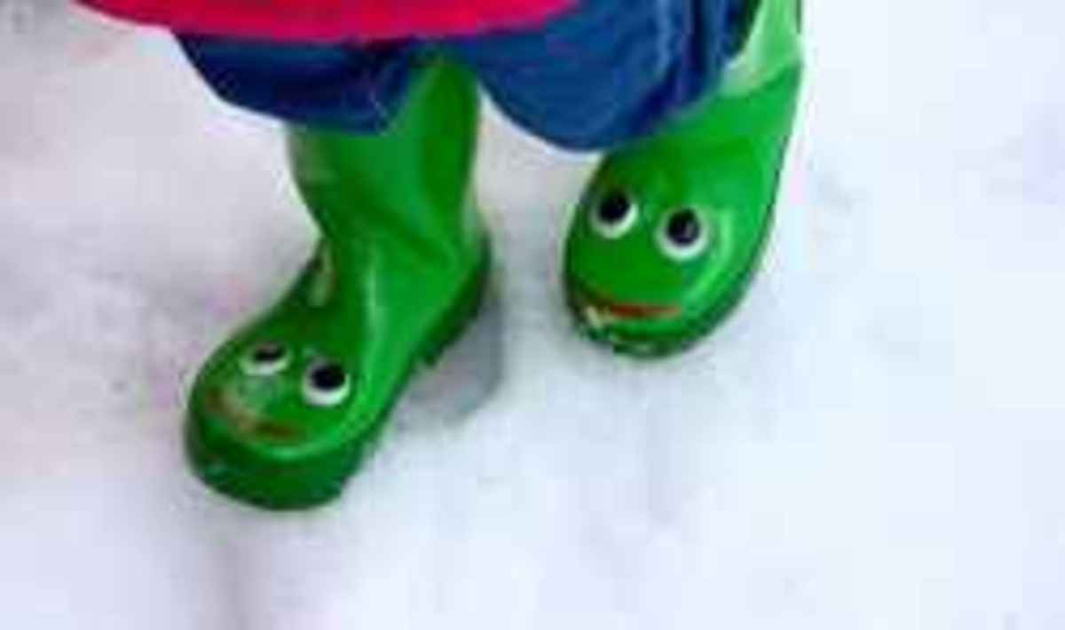 Galoshes in the Snow