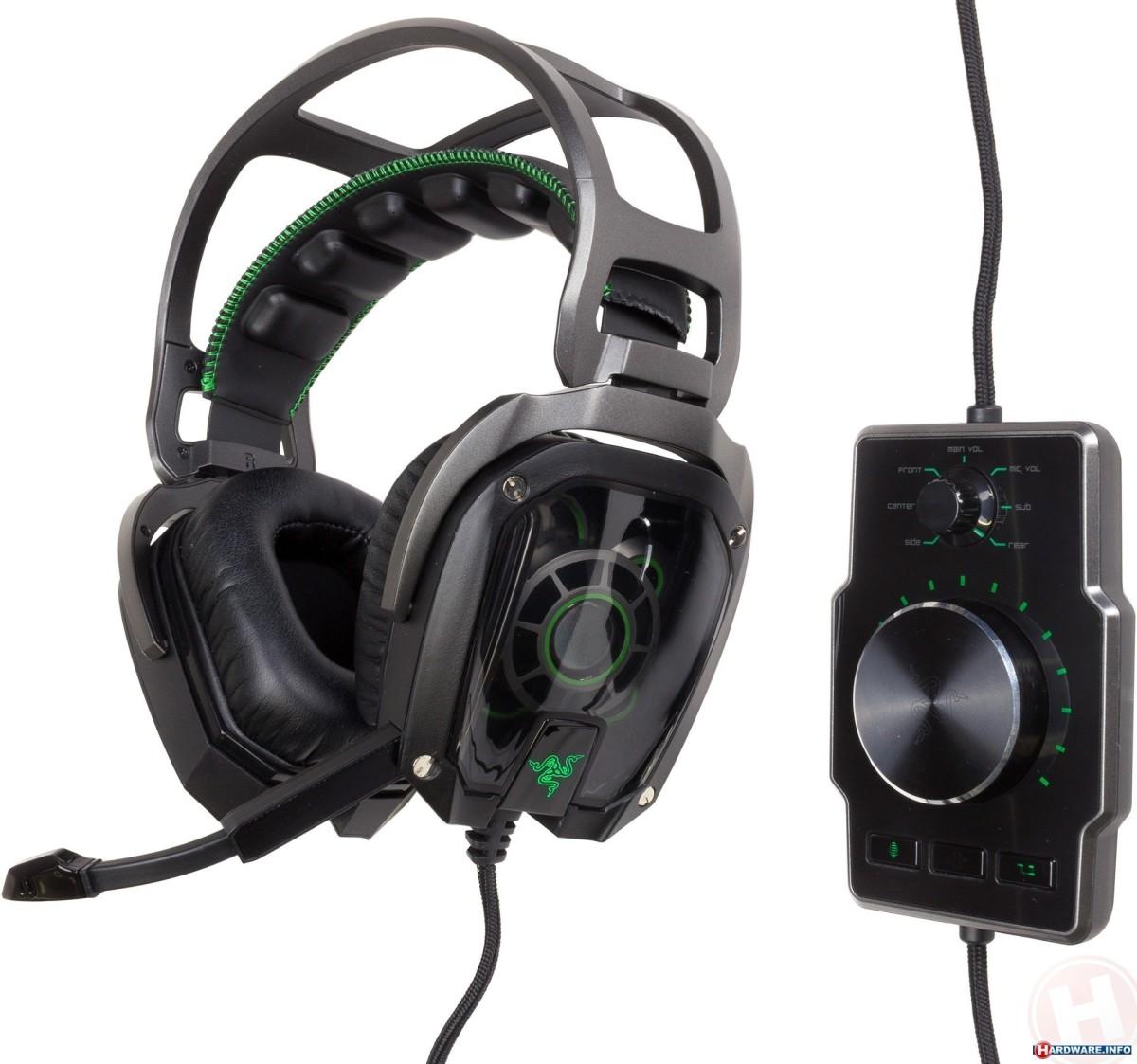 The Razer Tiamat 7.1 Gaming Headset