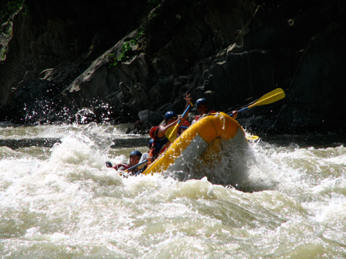 whitewater rafting in Chico River