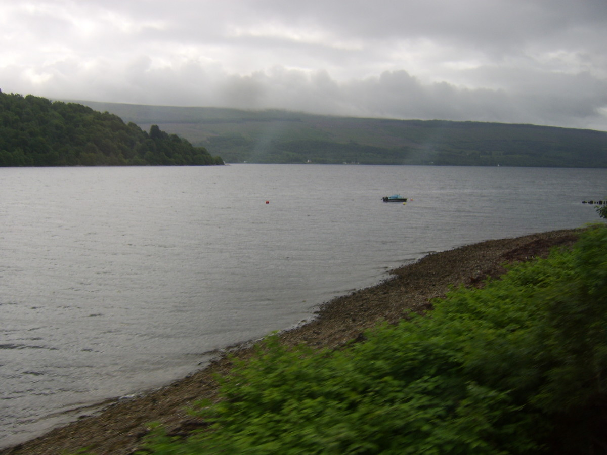 Loch Fyne from the shore road