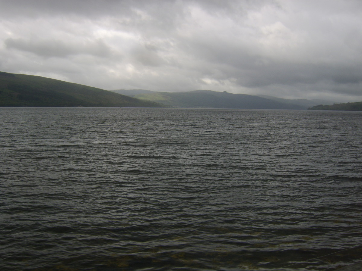 Loch Fyne widening, by Inveraray