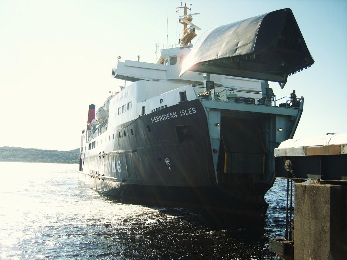 The Islay Ferry from Kennacraig