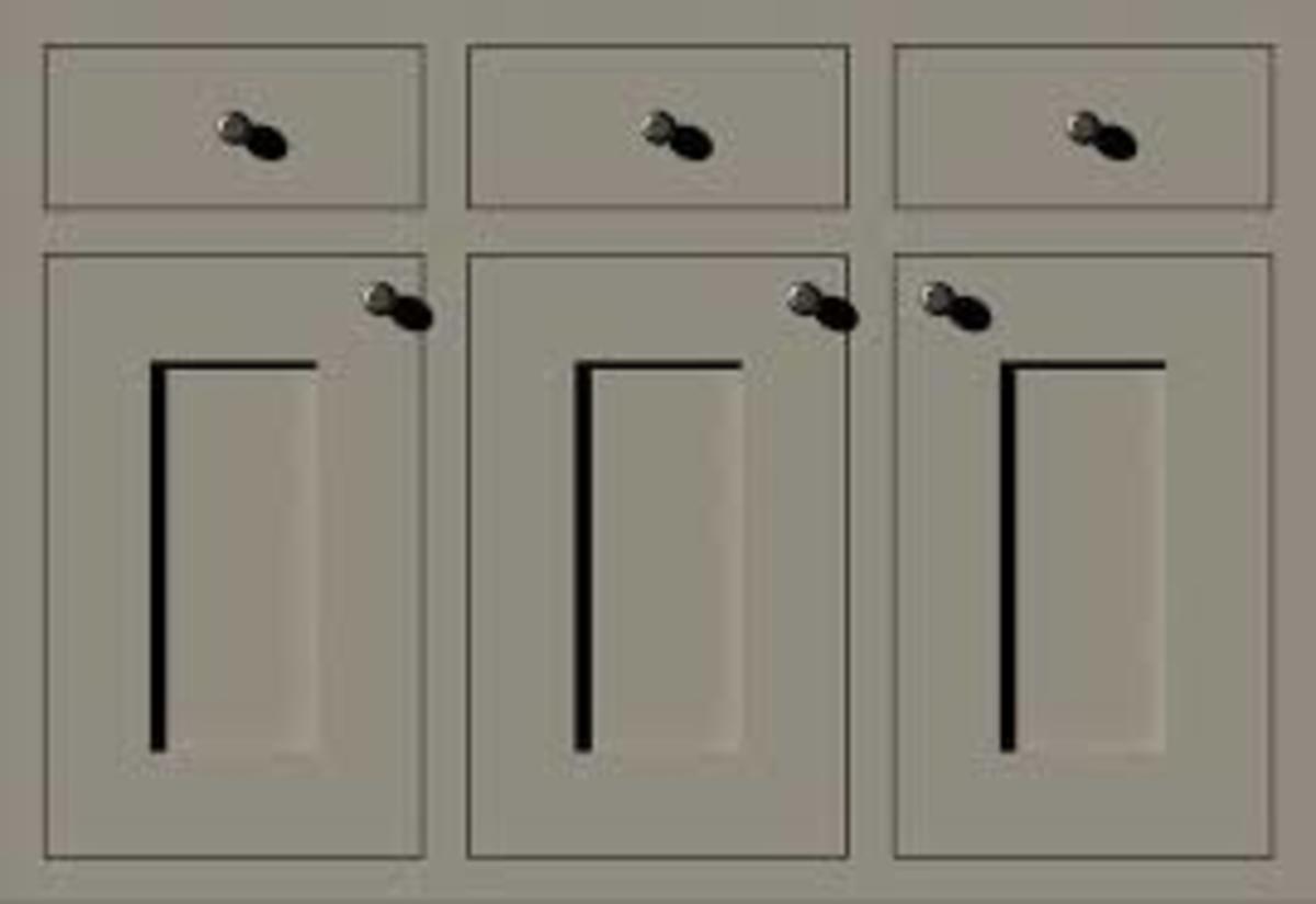 showing plain inset doors
