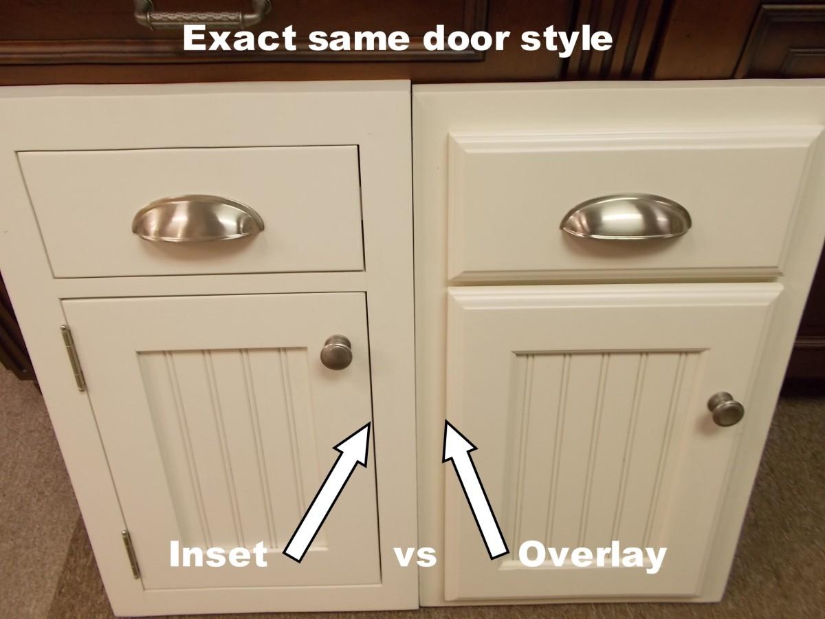 Partial Inset Kitchen Cabinet Doors