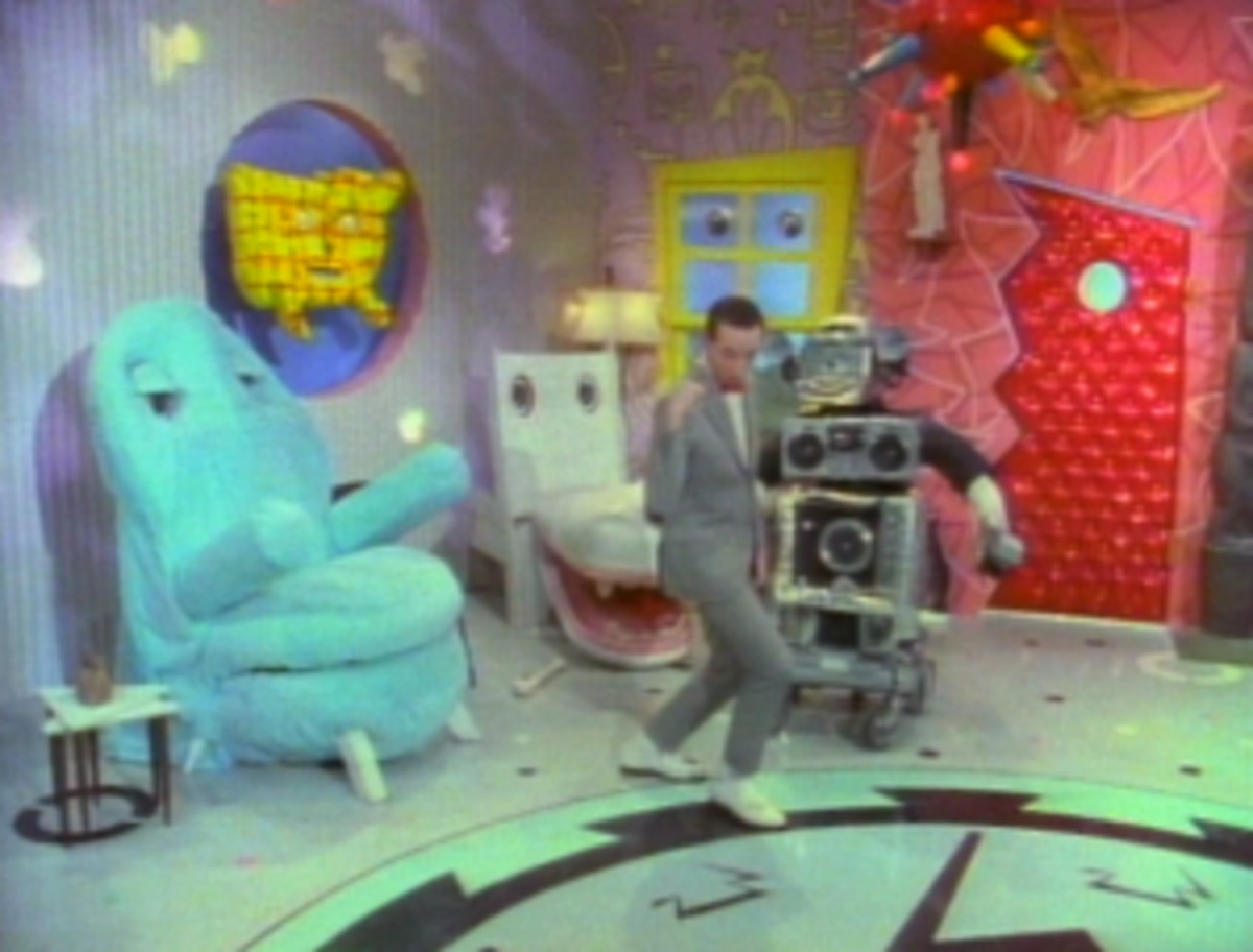 Pee Wee's Playhouse.