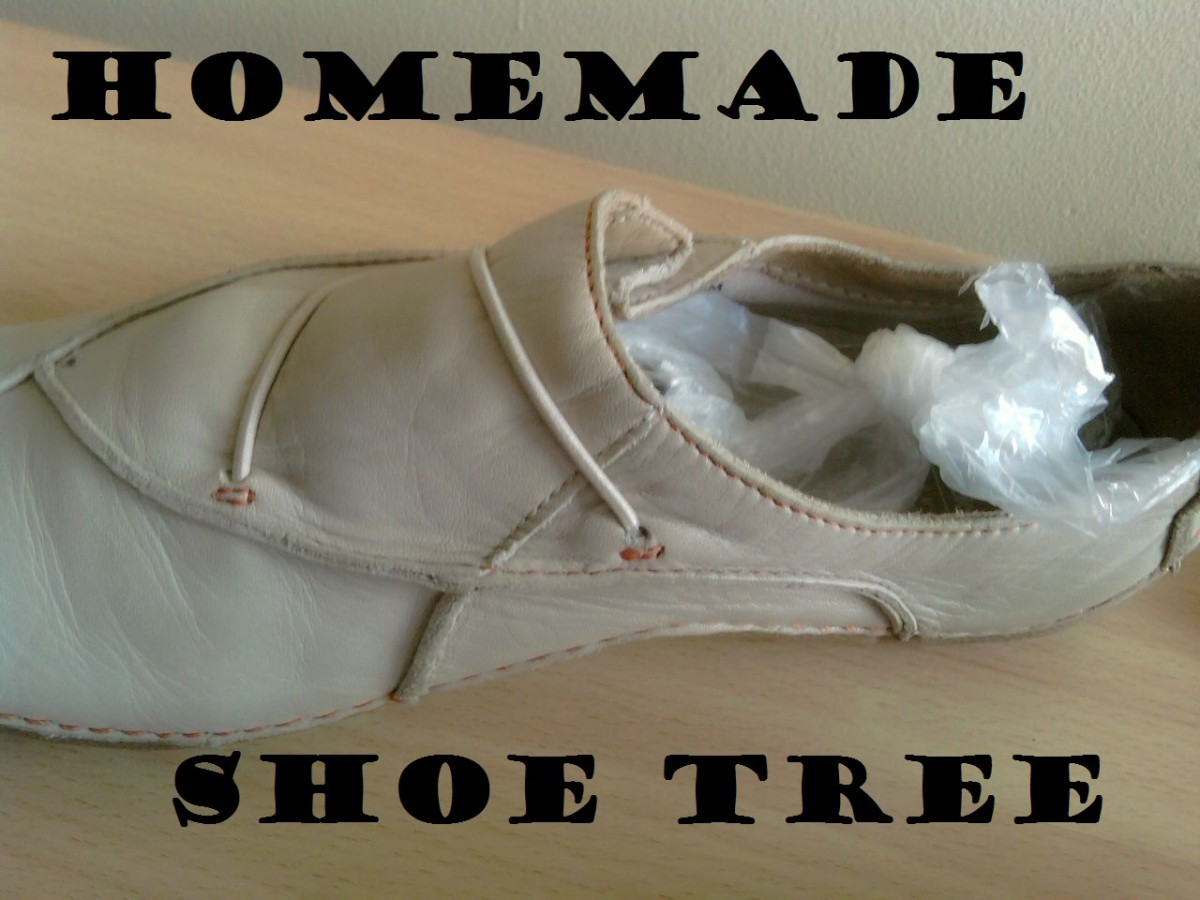 Homemade shoe trees: how to make them cheaply