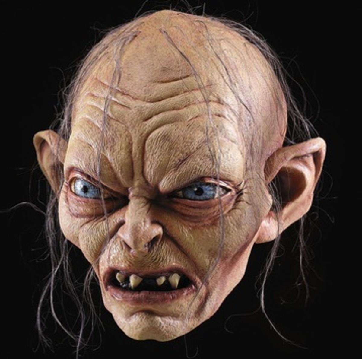 Incredibly Realistic Gollum Mask