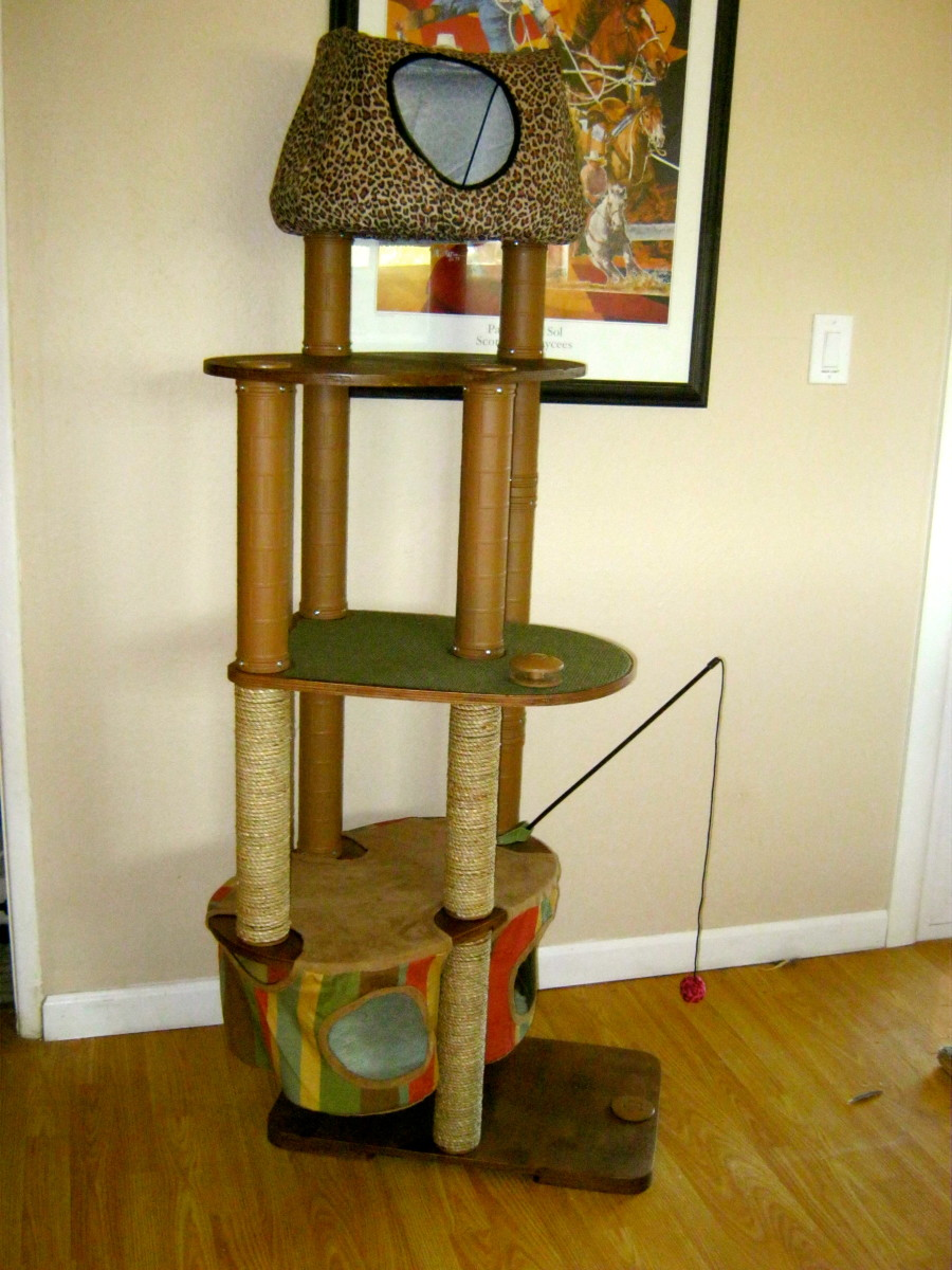 Product Review:  Solvit Kitty'scape Play Structure Cat Furniture
