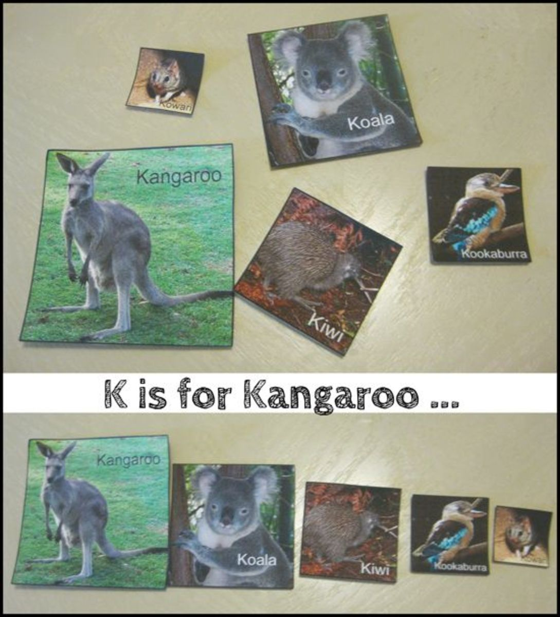 K is for Kangaroo Alphabet Activities for Kids