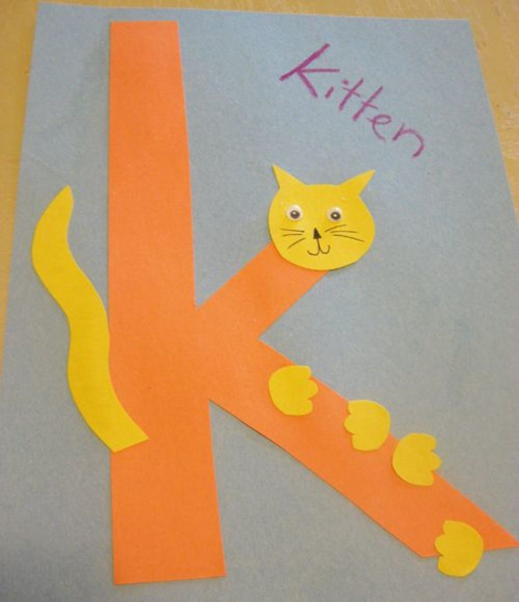 K is for Kitten Alphabet Activities