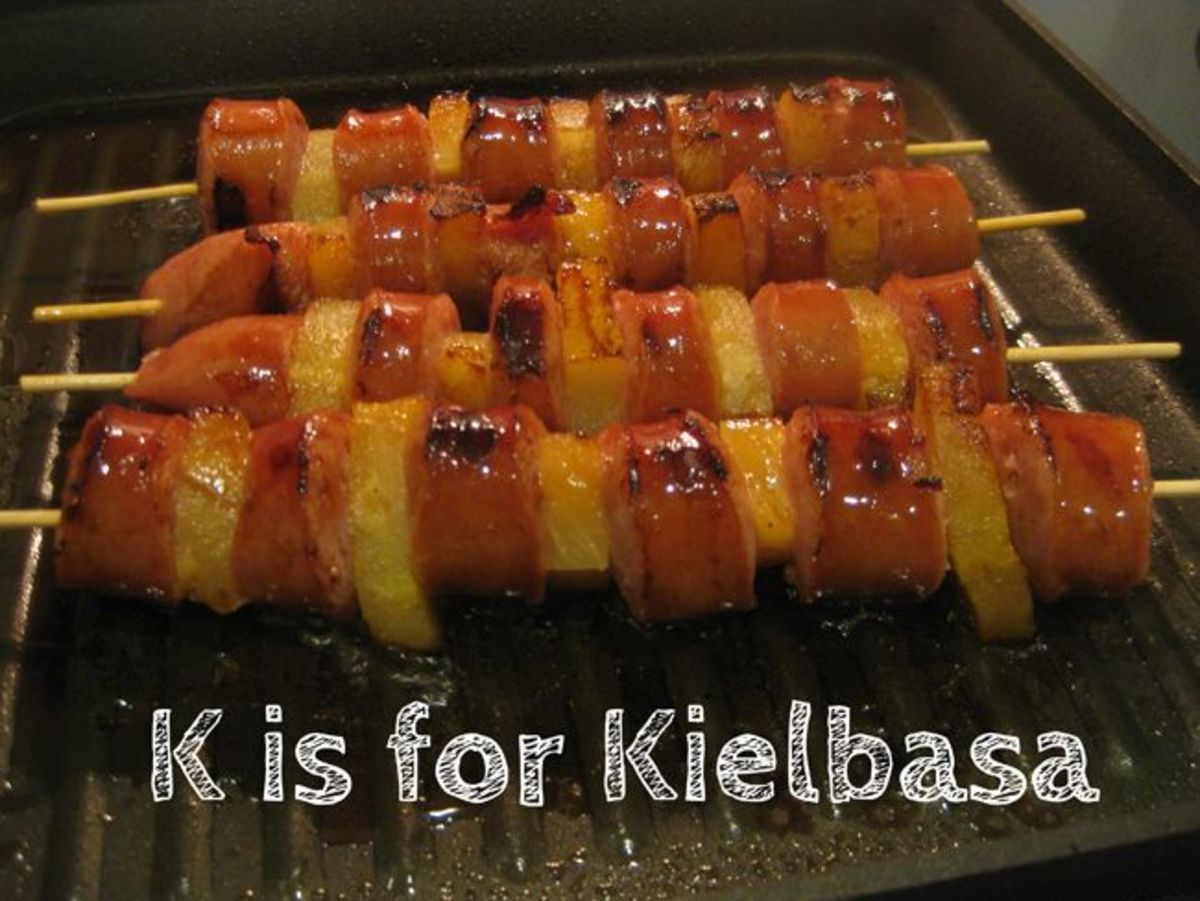 K is for Kielbasa Alphabet Activities