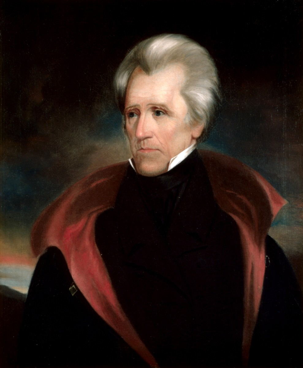 Andrew Jackson the seventh president of the USA