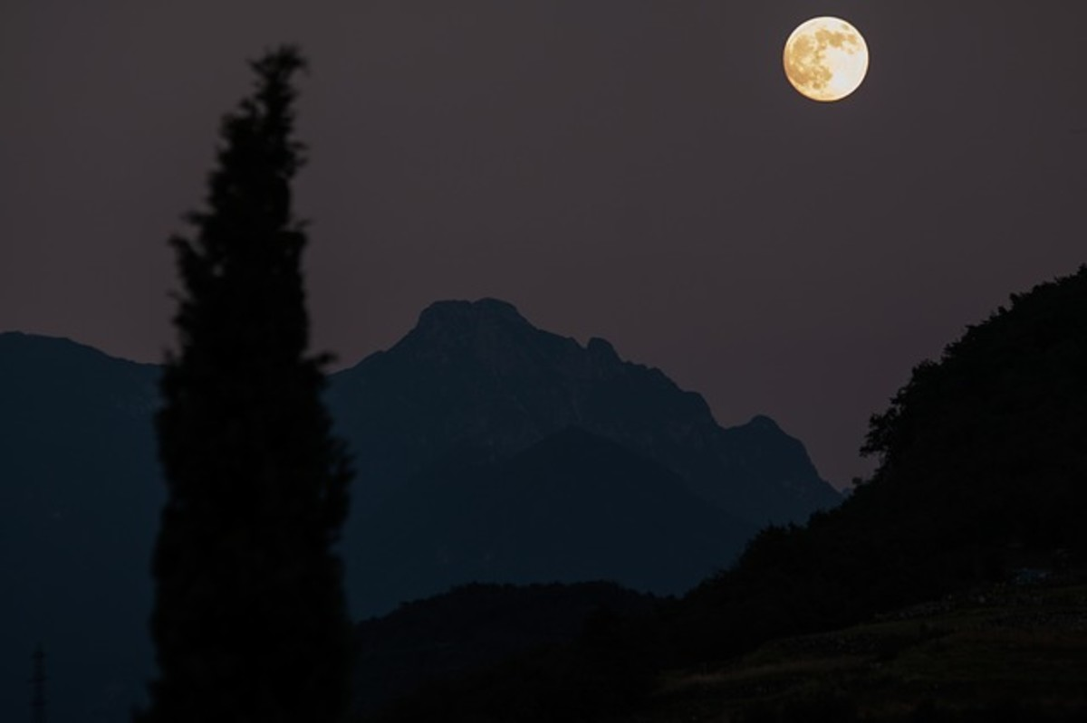 The invisible Element of night, where the cold winds blow from the north over the mountains; the time of life when our spirits are like a breath of wind.
