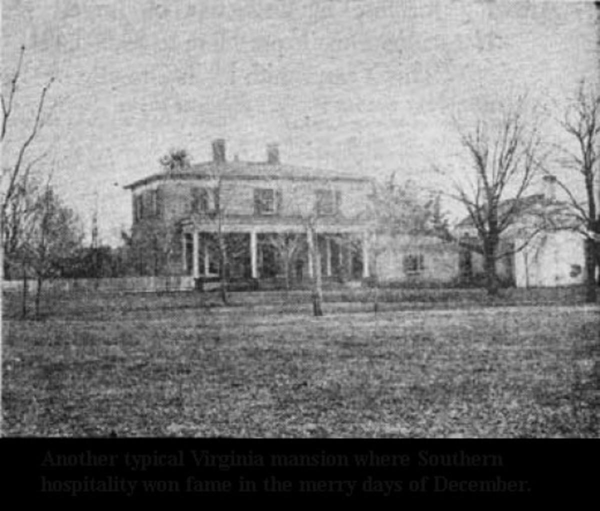 A Southern Plantation at Christmas 1860