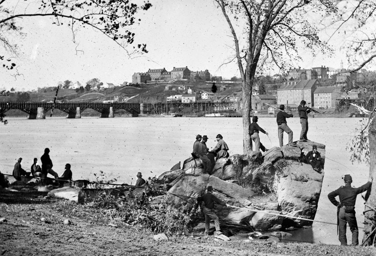 US Troops at Georgetown.