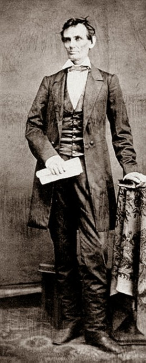 Abraham Lincoln, Republican Presidential nominee in 1860