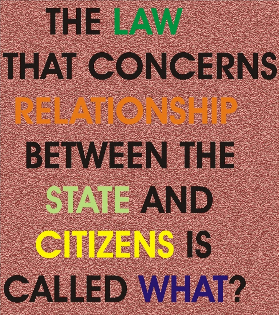 Classifications of Law, Negative and Positive Effects of Law