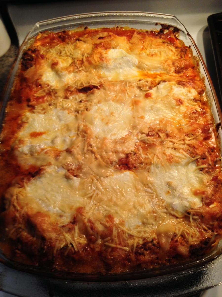 Sicilian Lasagna