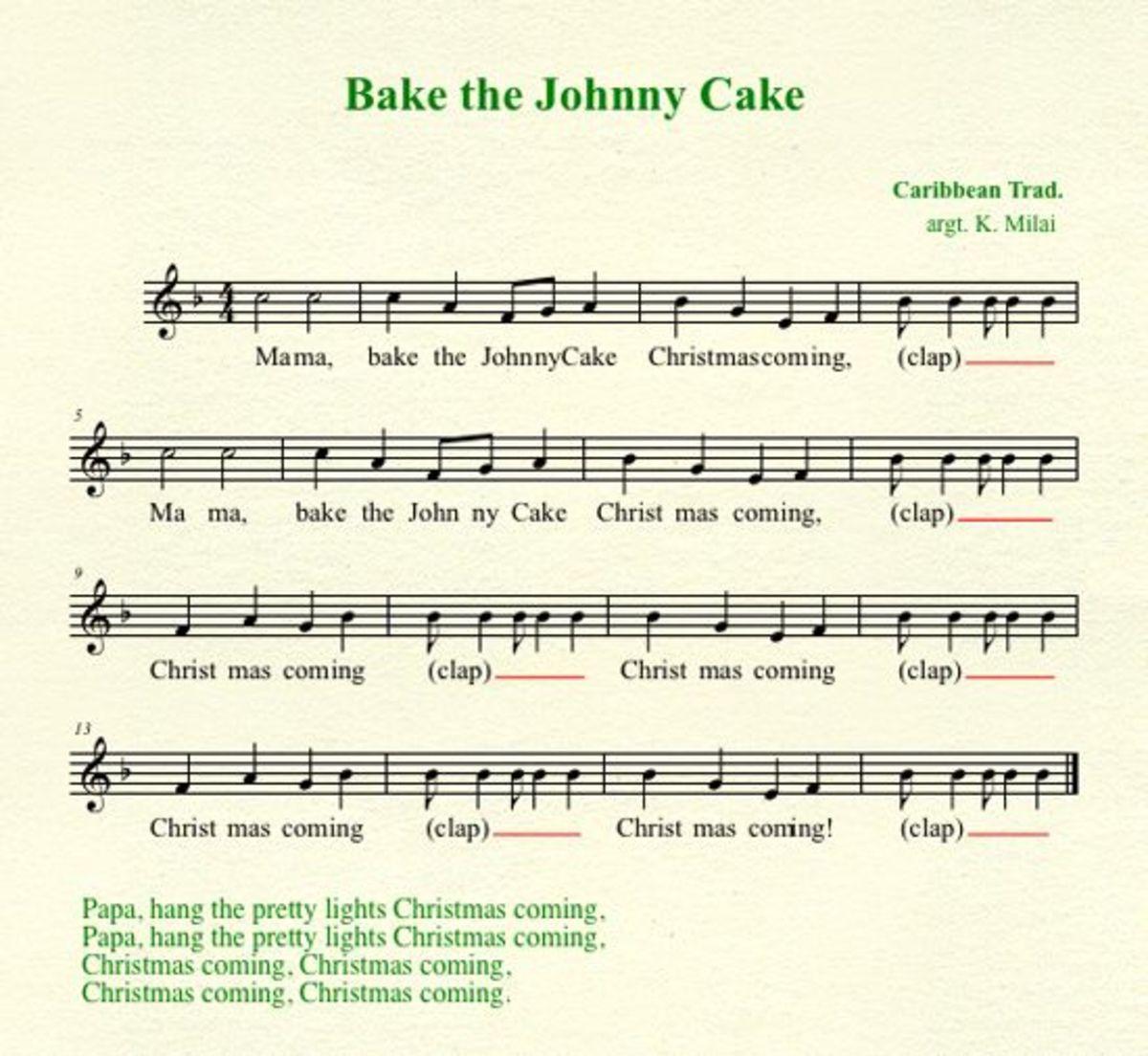 Mama Bake The Johnny Cake