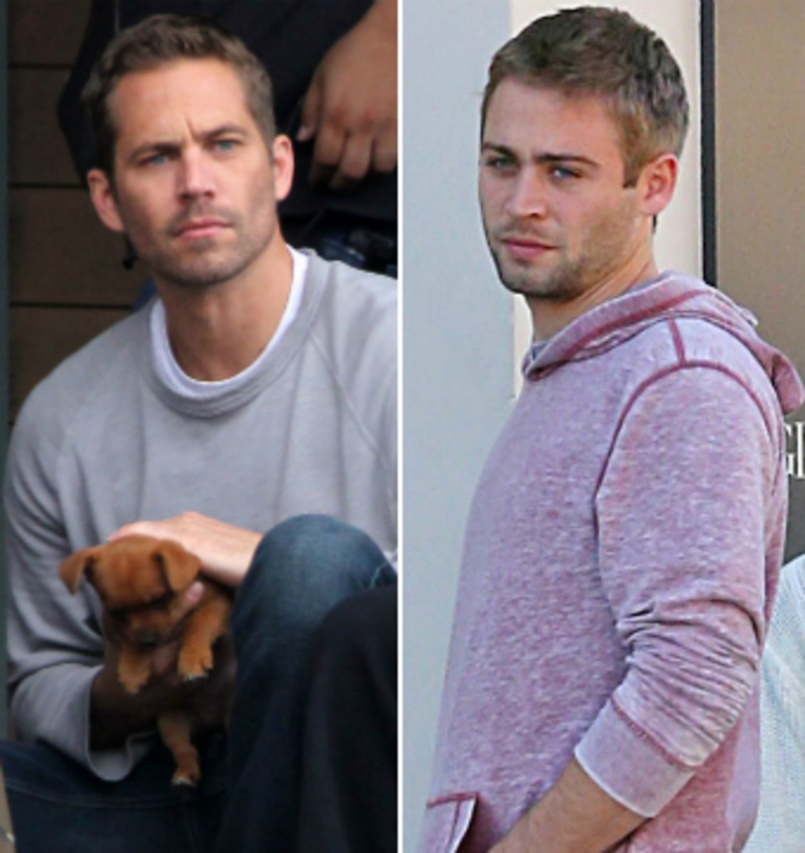 Cody Walker, Right. Paul Walker, Left.