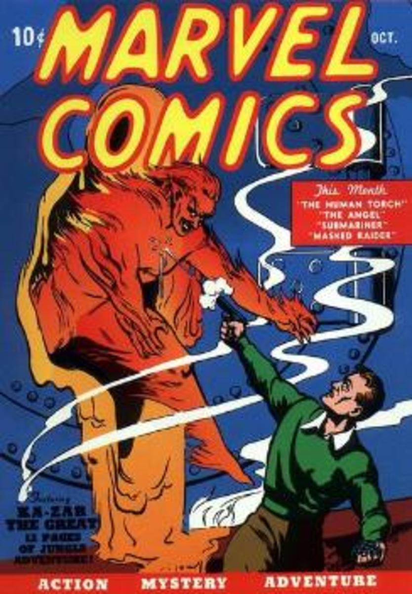 Marvel Comics #1 by Timely 1939