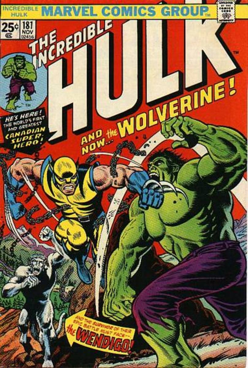 Incredible Hulk #181 - First Appearance of Wolverine!