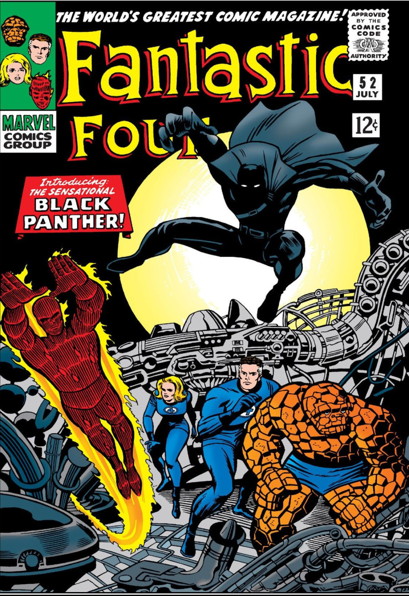 Fantastic Four #52 cover by Jack Kirby and Joe Sinnott